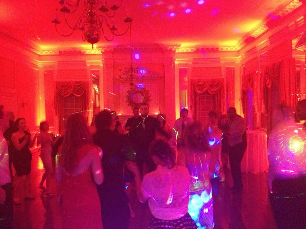washington d.c. wedding lighting